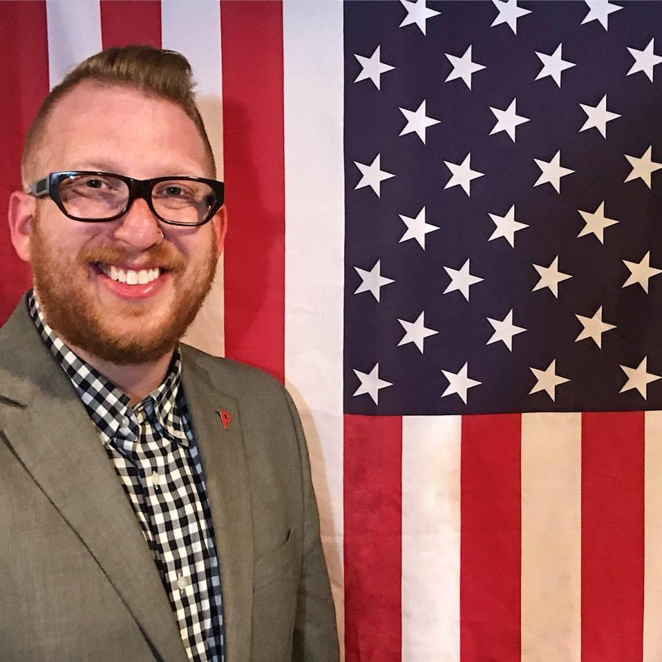 Michael Earnheart was endorsed by the Rhode Island Democratic Party over a progressive incumbent this week.