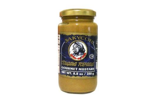 Zakuson Gourmet Mustard.
