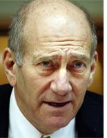 Ehud Olmert. Click image to expand.