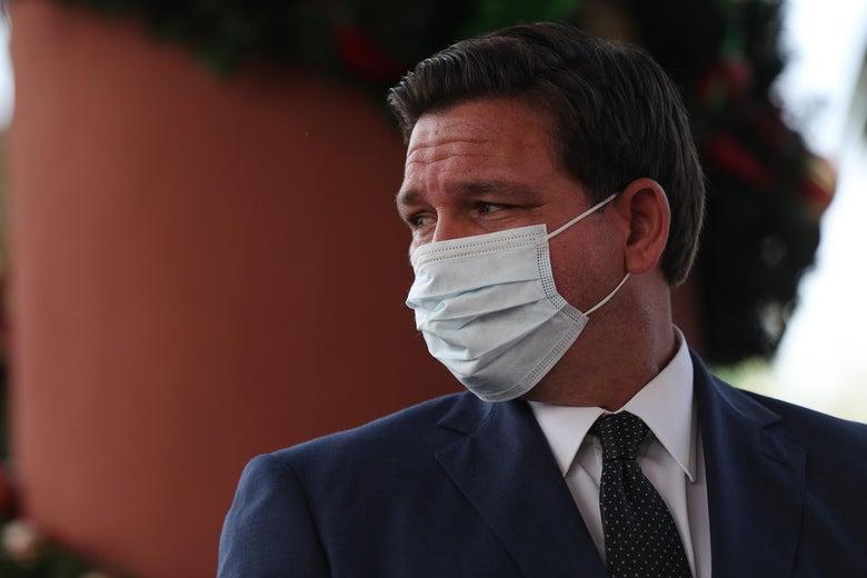 Why Florida Public Health Officials Won't Blow the Whistle on Ron DeSantis