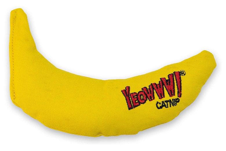 Yeowww! Catnip Toy, Yellow Banana