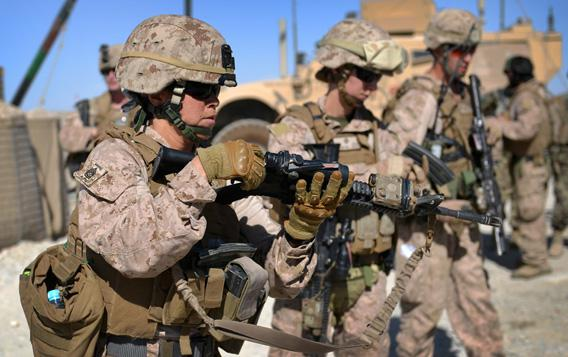 Members of Female Engagement Team (FET), U.S. Marines