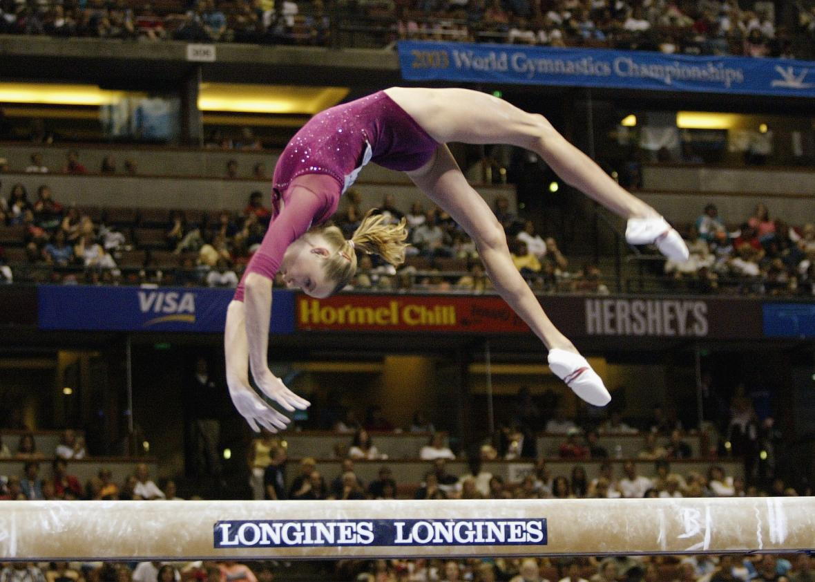 Why The Balance Beam Mounts At The 2016 Olympics Are