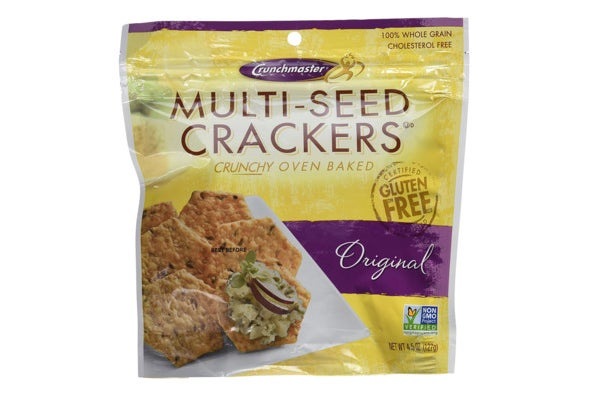 Crunchmaster Multi-Seed Crackers.