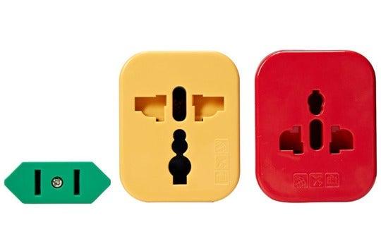 Plug adapter.