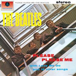 Cover art for Please Please Me