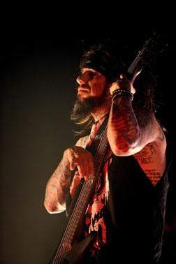 "Korn's Reggie ""Fieldy"" Arvizu. Click image to expand."