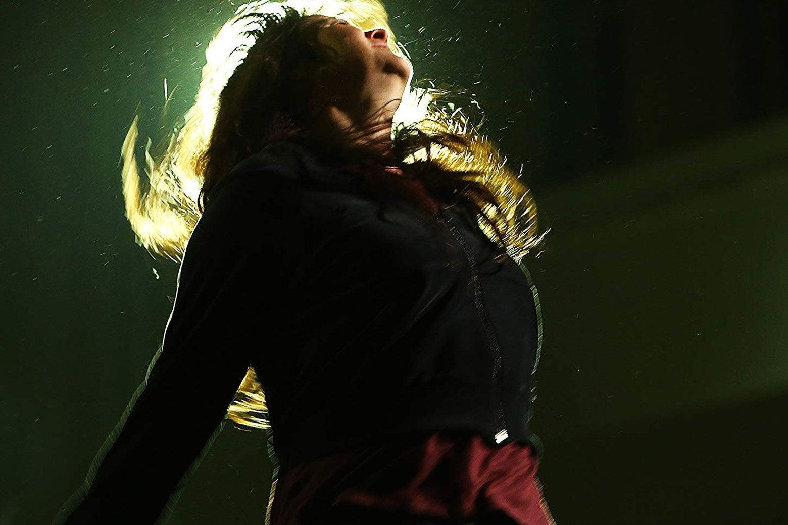 Trine Dyrholm dances onstage as Nico in Nico, 1988.