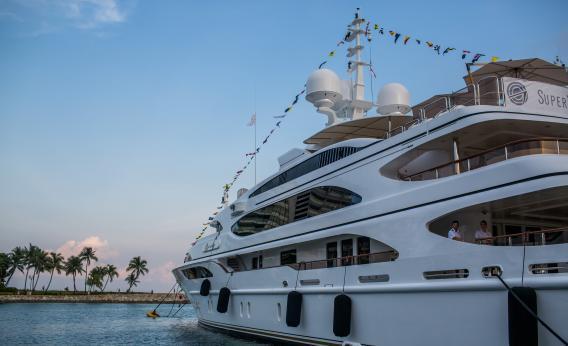 Superyacht owner lets college kids hack $80 million ship.