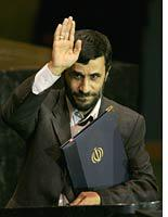 Ahmadinejad: He's all about the rials