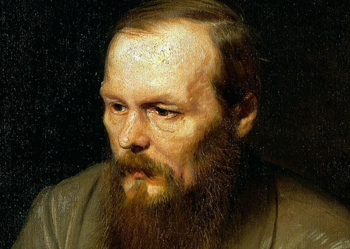 Portrait of the Writer Fyodor Dostoyevsky, 1872.