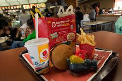 A McDonald's Happy Meal. Click image to expand.