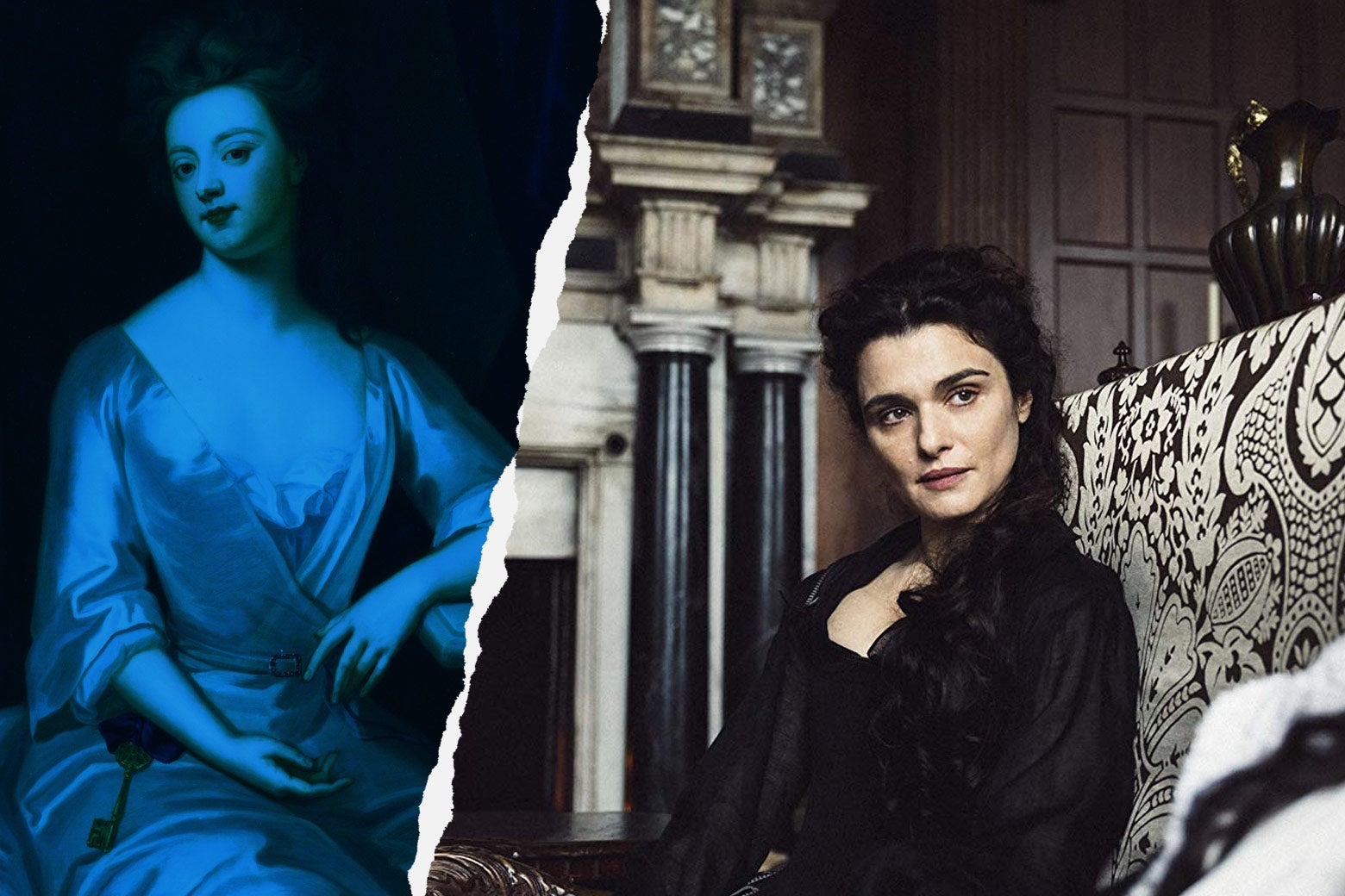 Portrait of Sarah Churchill, Rachel Weisz as Sarah Churchill