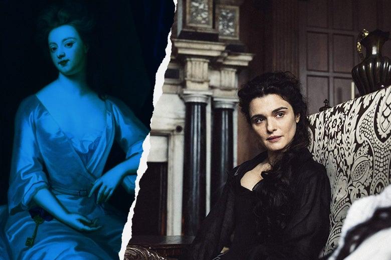 Portrait of Sarah Churchill, Rachel Weisz as Sarah Churchill