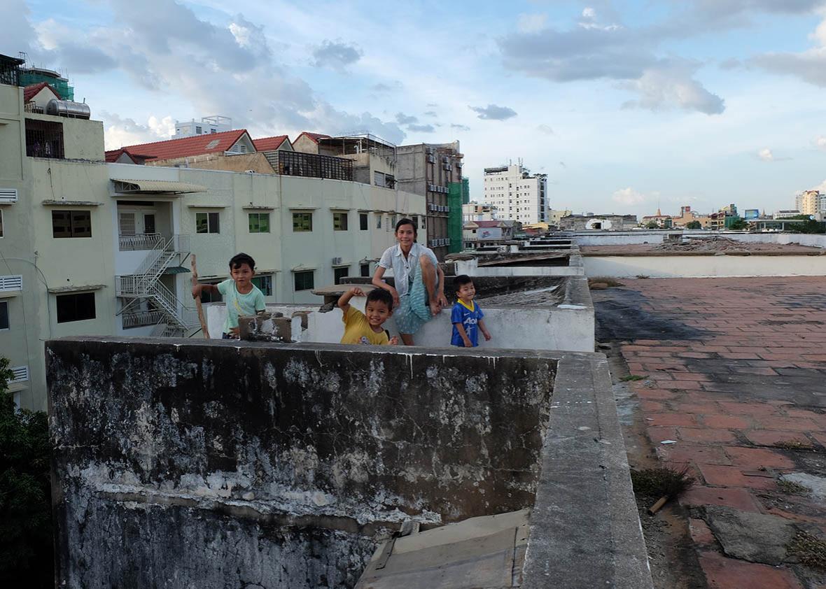 Cambodian architecture 1.