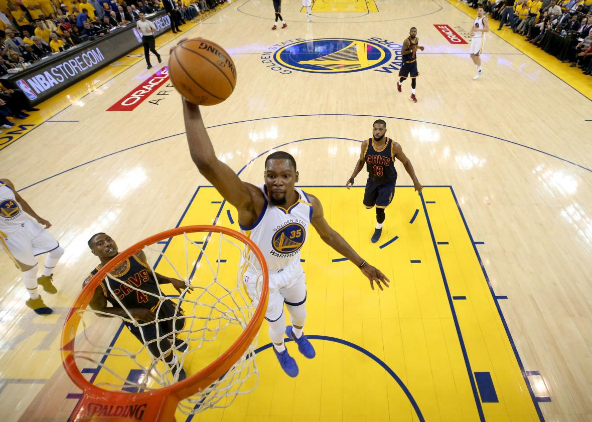 3635f812d940 The Cavs Did OK Except for How Kevin Durant Scored a Billion Points