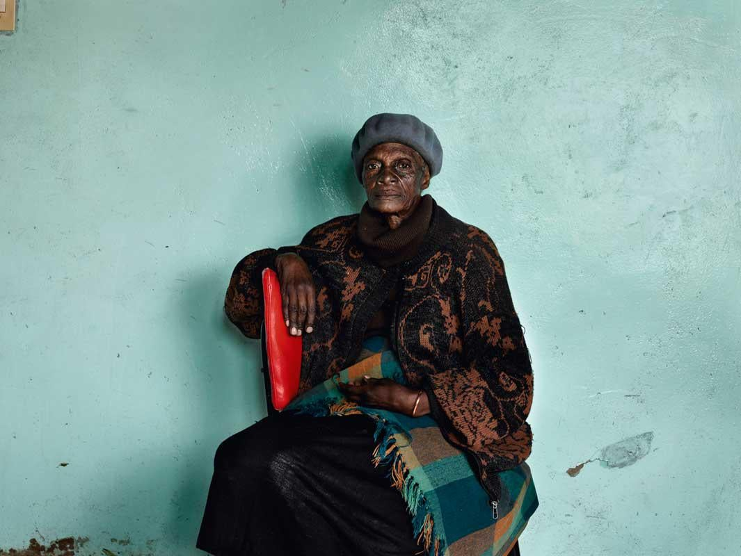 Meriam 'Mary' Tlali, who spent her entire adult life working as a maid for my grandmother, Kroonstad, 2011