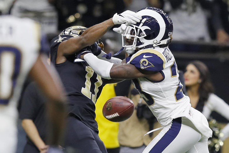 Was the No-Call at the End of the Saints-Rams Game the Worst Call in Other Universes or Just This One?
