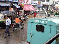 Delhi in monsoon season