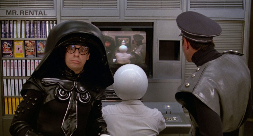 Rick Moranis in Spaceballs.