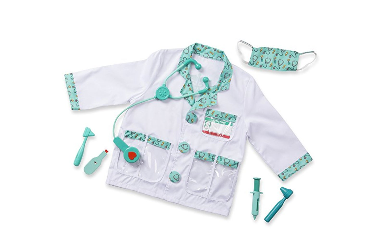 Melissa & Doug Doctor Role-Play Costume