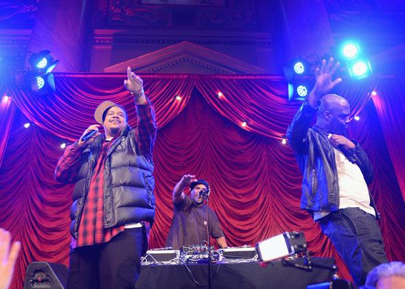 De La Soul performs onstage at The 5th Annual Blossom Ball at Capitale in March 2013 in New York City.