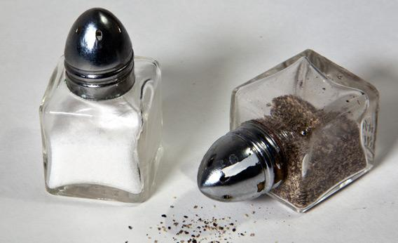 Salt and pepper: Why are they always together?