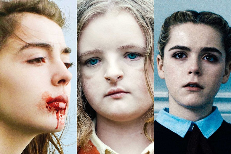 Hereditary, Raw, and The Blackcoat's Daughter.