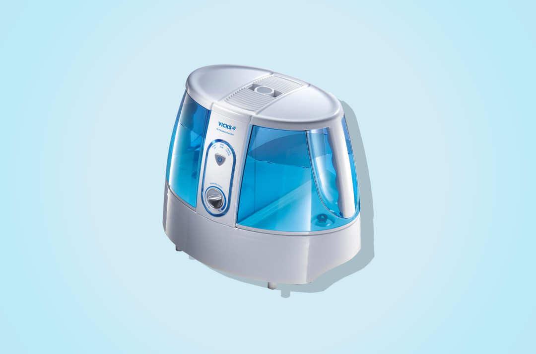 Vicks Germ-Free Warm Mist Humidifier.