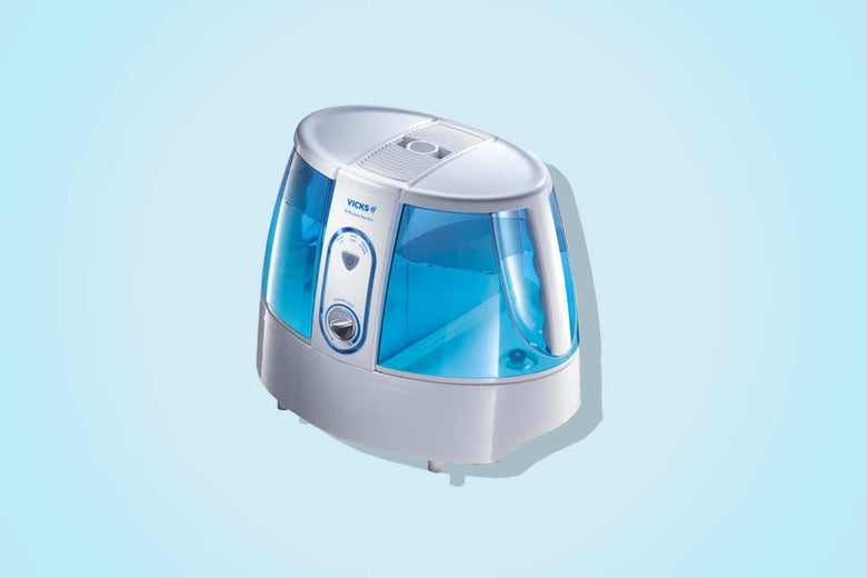 Vicks Germ-Free Warm Mist Humidifier.