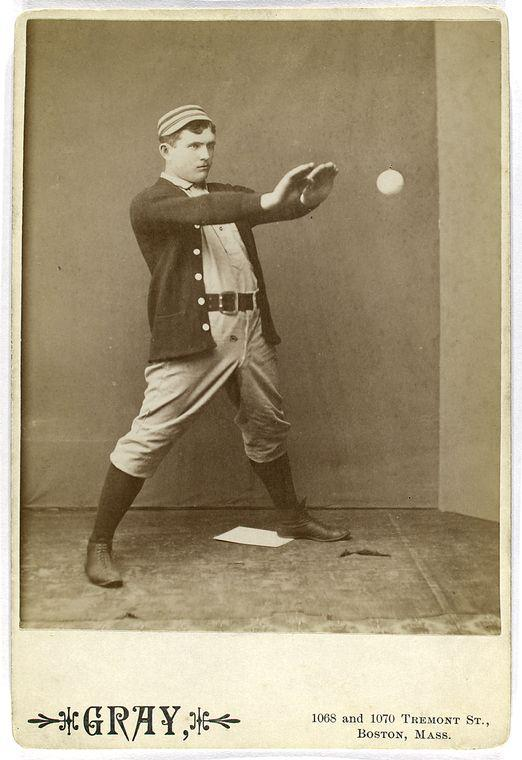 History Of Baseball Cards Cabinet Card Studio Portraits Of Early