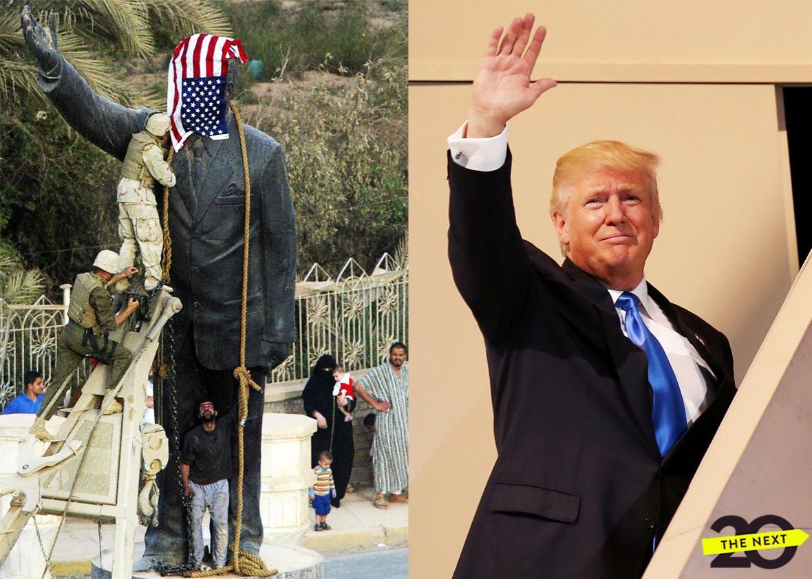 trump iraq war.
