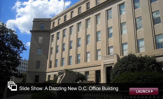 Slide Show: A Dazzling New D.C. Office Building. Click image to launch.