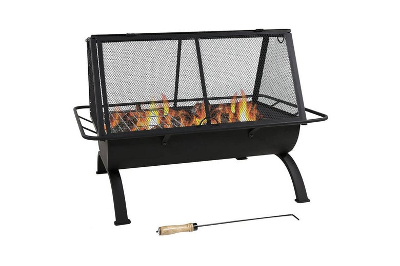 A 36-inch fire pit.