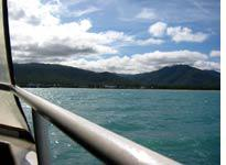 View from the ferry to Ko Samui