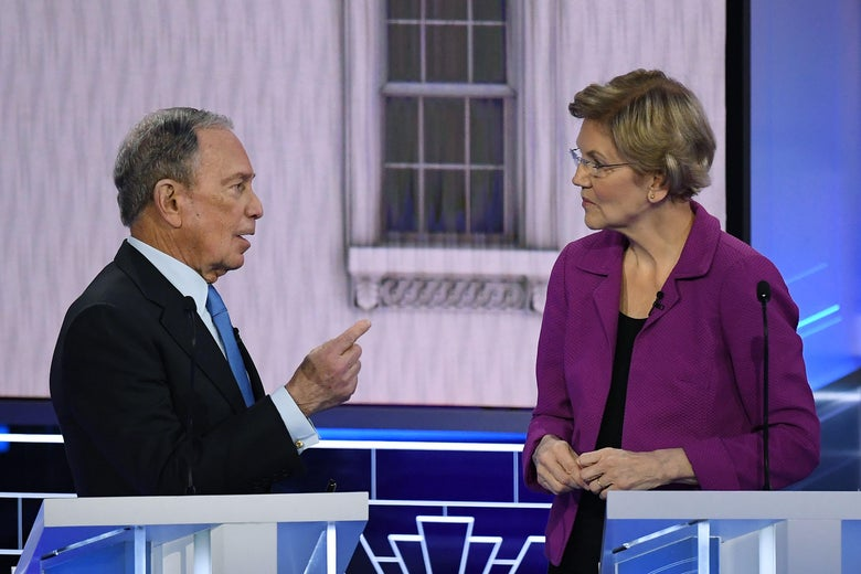 Bloomberg's Defenseless Debate