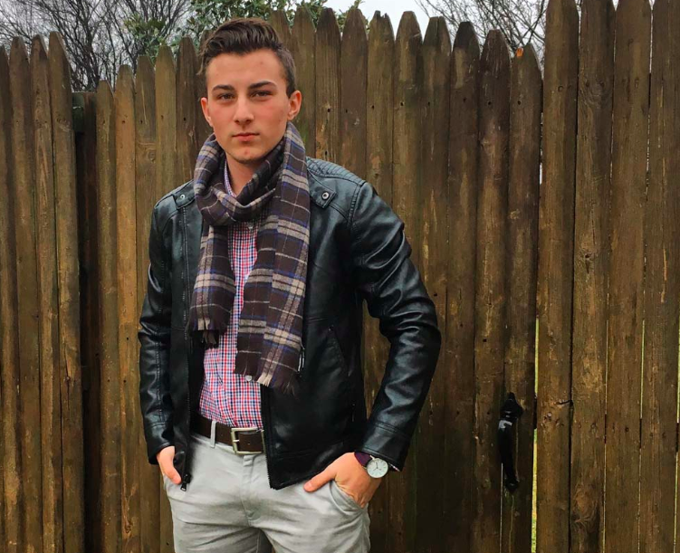 Aidan DeStefano, a transgender teenager whom Alliance Defending Freedom tried to prohibit from using the proper bathroom at school.