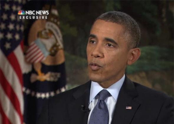 Obama / Chuck Todd