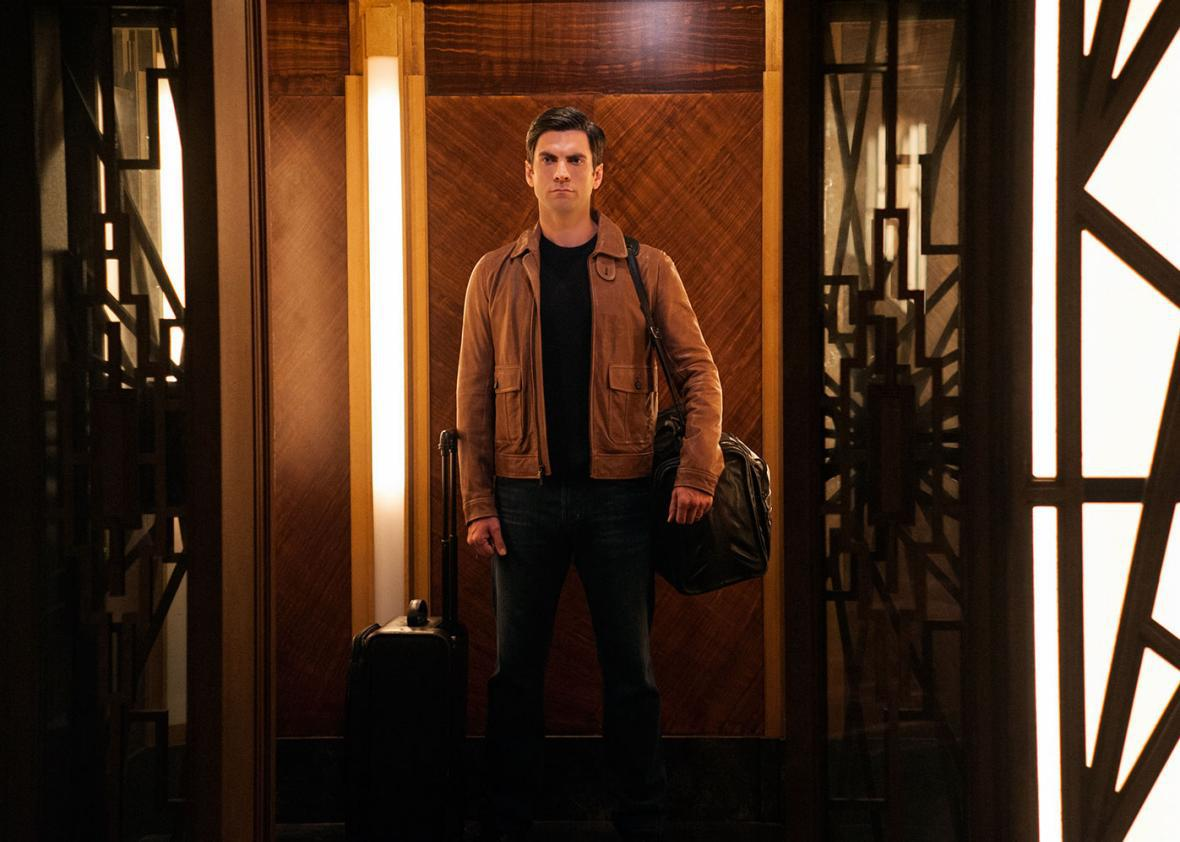 Wes Bentley as John Lowe in American Horror Story: Hotel.