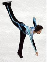Johnny Weir. Click image to expand.