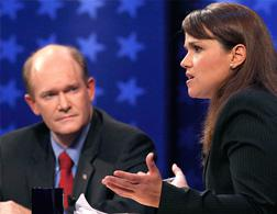 Coons and O'Donnell debate. Click image to expand.