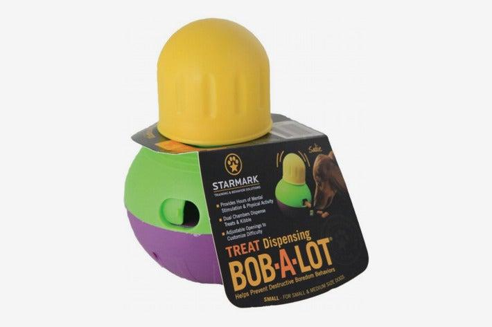StarMark Bob-A-Lot Interactive Dog Toy.