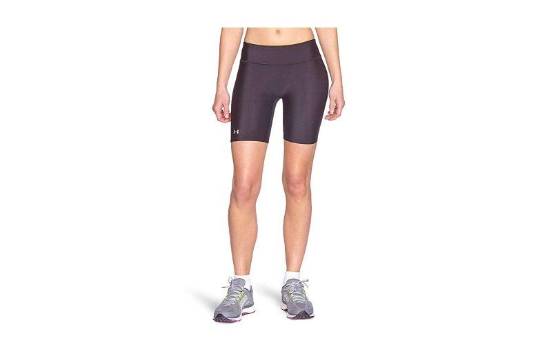 A model wearing shorts.