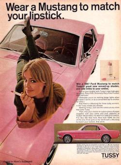 1967 Mustang magazine ad.
