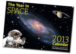 Year in Space 2013 calendar