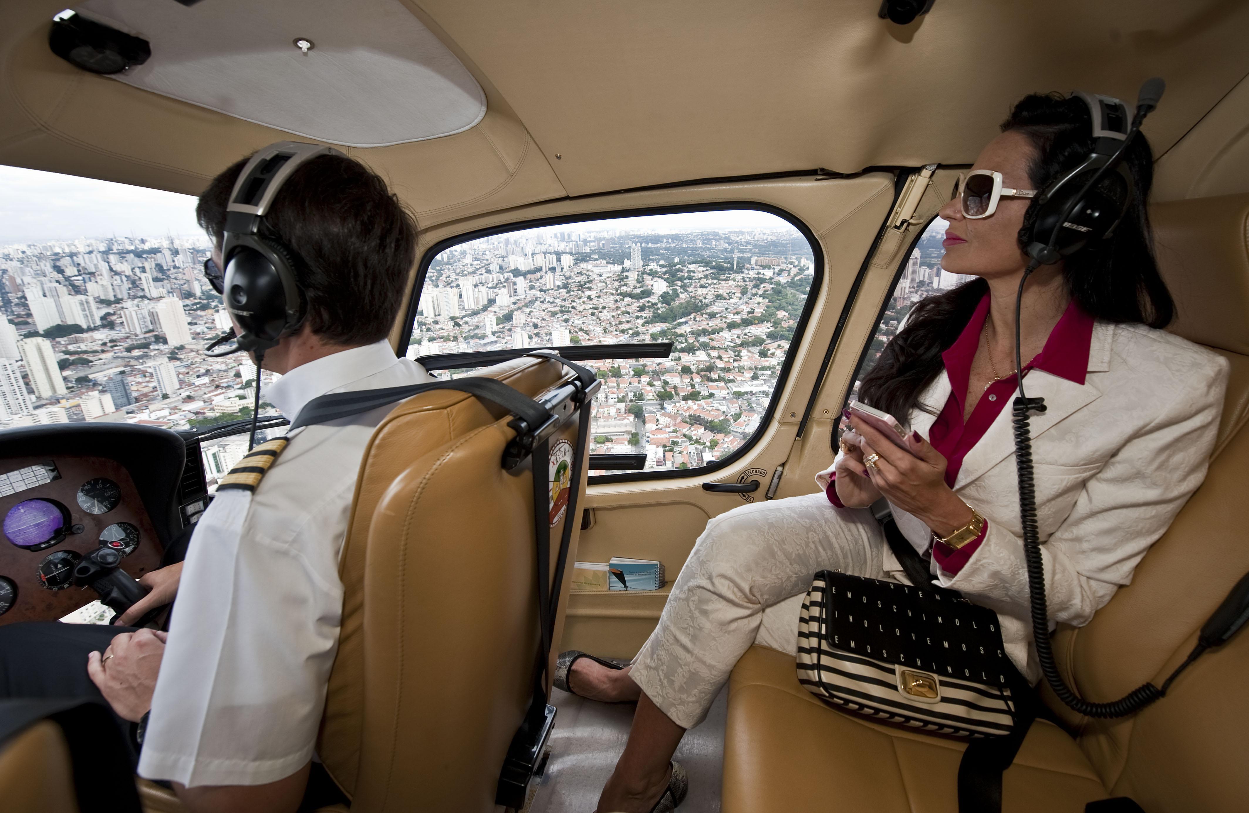 Brazilian millionaire Cozete Gomes