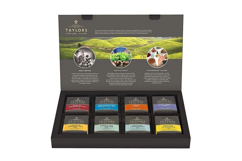 Tea variety box.