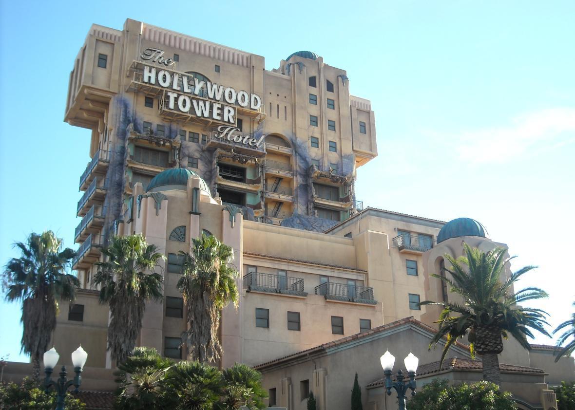 Disneyland's Tower of Terror