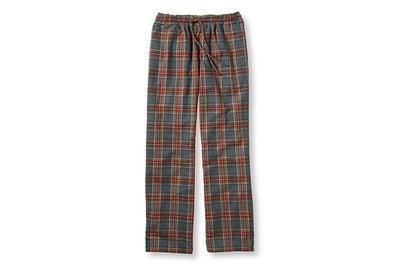 L.L.Bean Men's Scotch Plaid Flannel Sleep Pants
