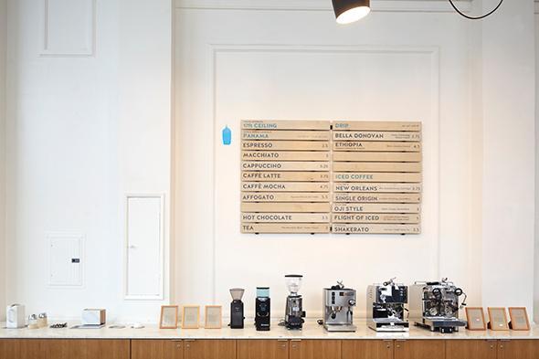 Blue Bottle in Oakland, Calif.